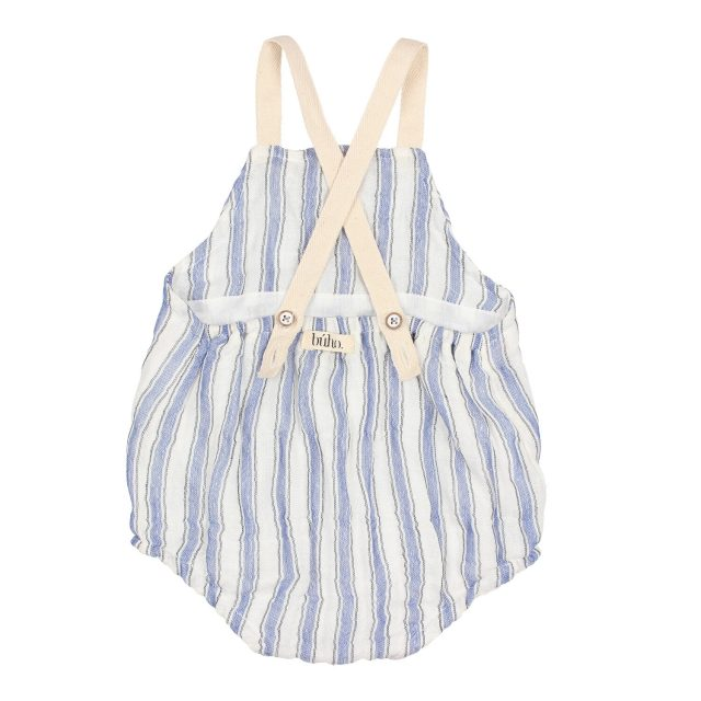 BABY CYRIL STRIPES ROMPER IND BACK BUHO